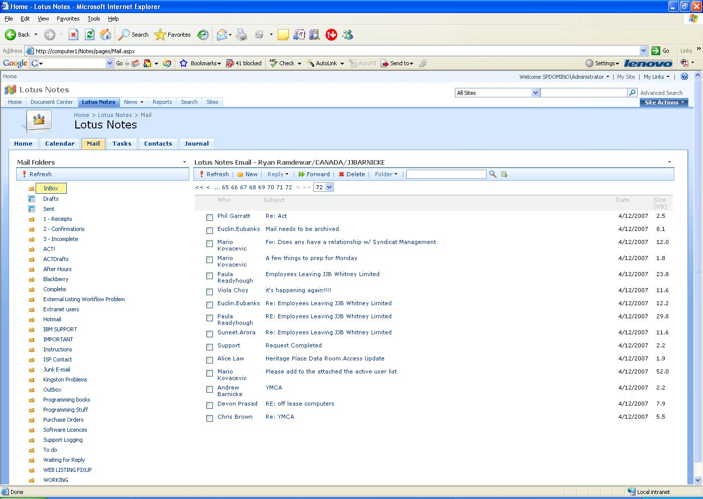 Also Allows Public and private address books access when integrated